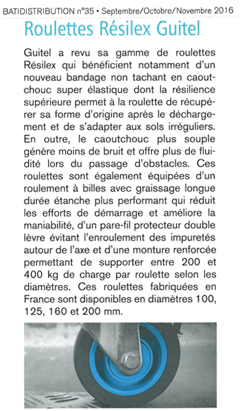 Article Bati Distribution - Octobre 2016