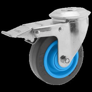 Roulette Résilex acier diamètre 100mm charge 150kg