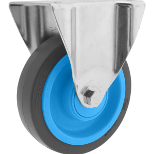 Roulette Résilex acier diamètre 200mm charge 400kg