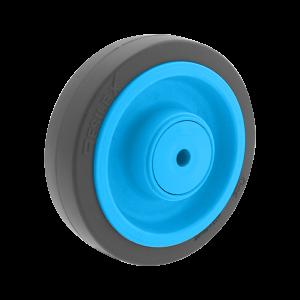 Roue Résilex acier diamètre 160mm charge 400kg
