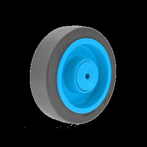 Roue Résilex acier diamètre 125mm charge 200kg
