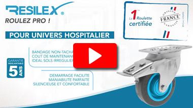 Vidéo la Fabrication de la nouvelle roulette RESILEX