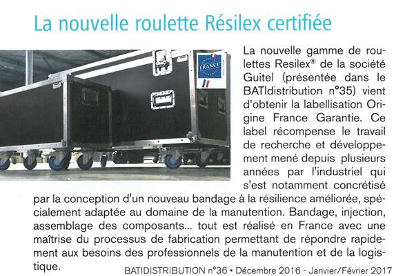 Article Bati Distribution Janvier 2017