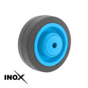 Roue Résilex Inox diamètre 100mm charge 200kg