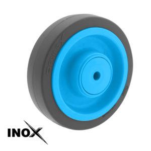 Roue Résilex Inox diamètre 200mm charge 400kg